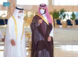 """""""سمو ولي العهد """"يستقبل سمو ولي عهد أبوظبي لدى وصوله مطار الملك خالد الدولي في الرياض"""