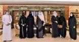 """""""سعود بن نايف """"يستقبل أعضاء أكاديمية همم الشرقية للرياضة النسائية"""