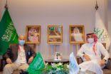 وزير الرياضة يستقبل الشيخ عيسى آل خليفة ورئيس الاتحاد الدولي للسباحة
