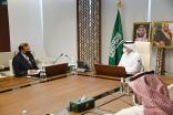 """""""الدكتور الربيعة """"يلتقي مدير مركز الأمم المتحدة لمكافحة الإرهاب"""
