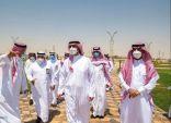 أمير  الجوف يتفقد أحياء طبرجل ويفتتح مشروع مركز حديقة الأمير نواف بن عبدالعزيز