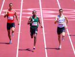 العداء مازن الياسين ينهي سباق 400 متر في المركز الأول ويتأهل لنصف النهائي