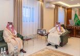 """""""أمير الجوف """"يلتقي رؤساء مراكز طبرجل ويؤكد على خدمة أبنائها"""