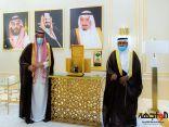 أمير الباحة يتسلم تقريرين عن منجزات غرفة المخواة