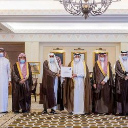 أمير الباحة يستقبل مشائخ القبائل بالمنطقة